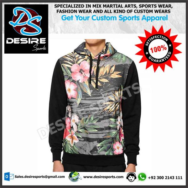 Sublimated Hoodies Desire Sports